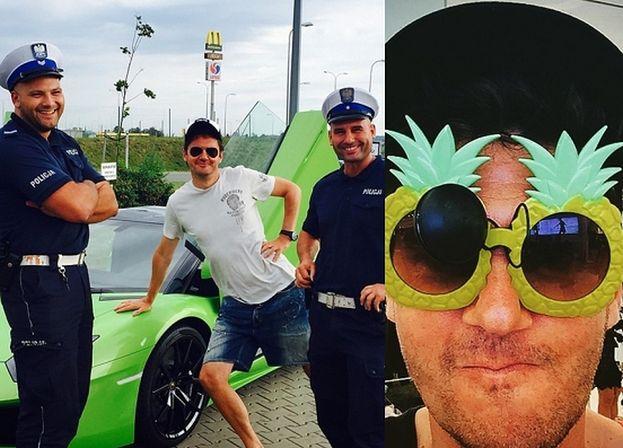 Policjanci z Grudziądza mają kłopoty przez zdjęcie z Wojewódzkim!