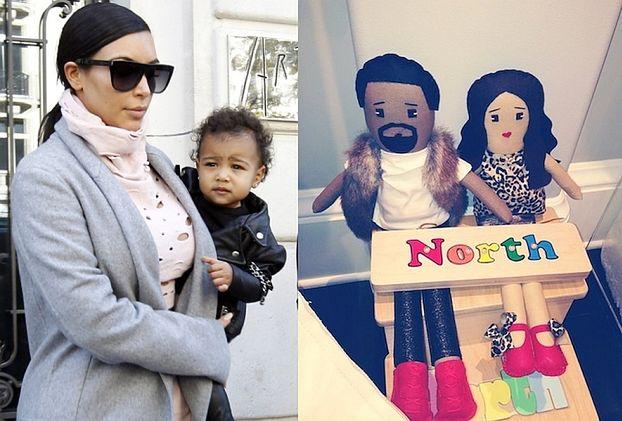 North ma lalki... z Kim i Kanye! (FOTO)