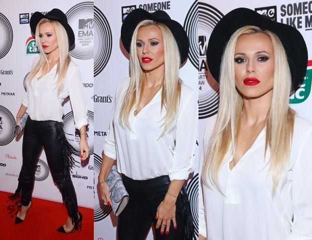Elegancka (?) Doda na imprezie MTV... (ZDJĘCIA)