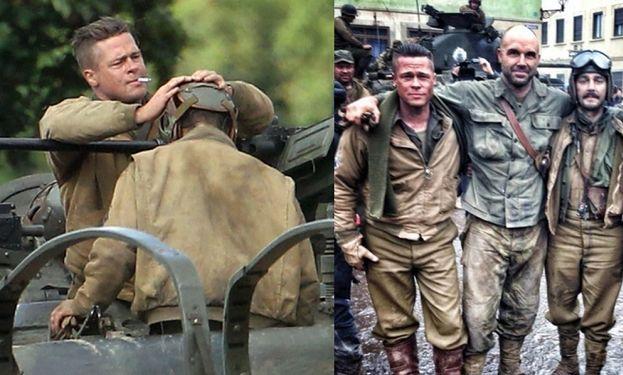 Brad Pitt... NA WOJNIE!