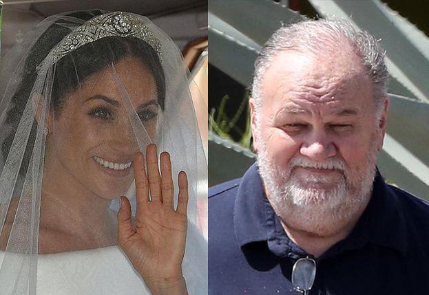 """Ojciec Meghan ekscytuje się jej ślubem: """"Moja dziecinka wygląda pięknie! Żałuję, że mnie tam nie ma"""""""