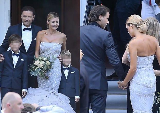 TYLKO U NAS: Tak wyglądał ślub Rozenek i Majdana!