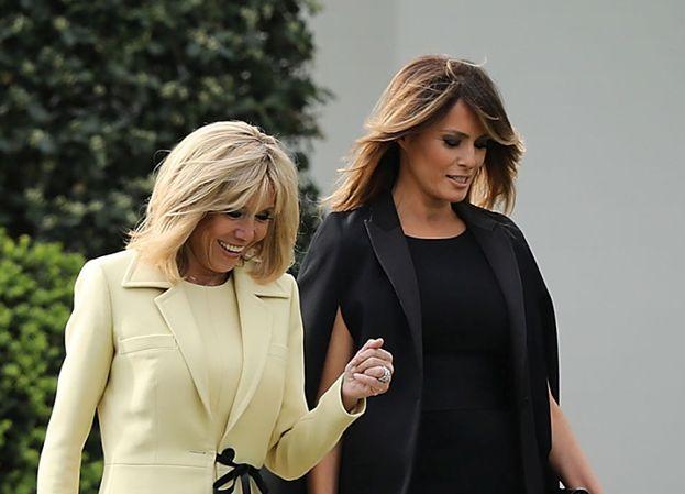 """Brigitte Macron ostro o Melanii Trump: """"Jest WIĘŹNIEM BIAŁEGO DOMU. Ukrywa silną osobowość"""""""