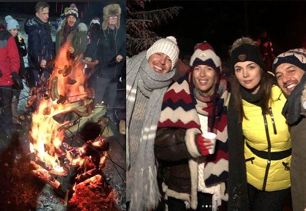 """Jemioł imprezuje w Zakopanem z Chodakowską, Krupińską, Ślotałą i innymi celebrytami. Fani: """"Umie pan korzystać z życia"""""""