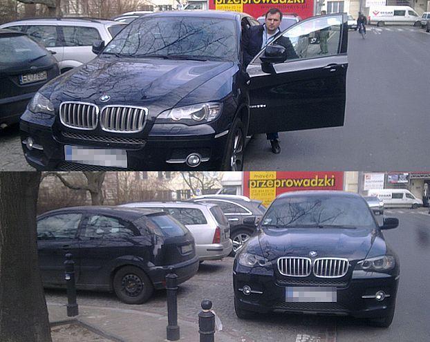 Dubieniecki zastawił dwa samochody... (ZDJĘCIA)