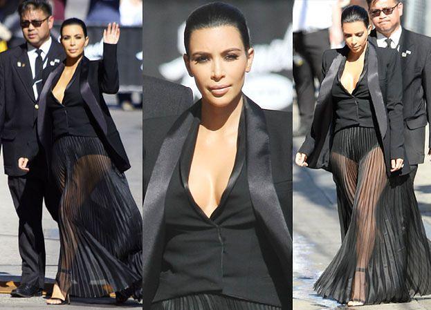 """Kim: """"Kanye najbardziej kocha moje nogi"""" (ZDJĘCIA)"""