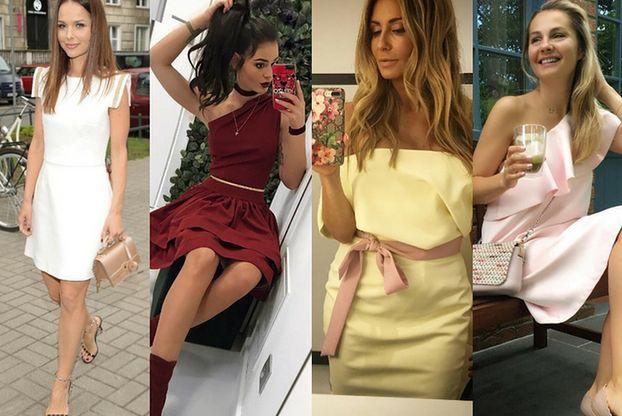 Najmodniejsze sukienki na wesele - 5 propozycji