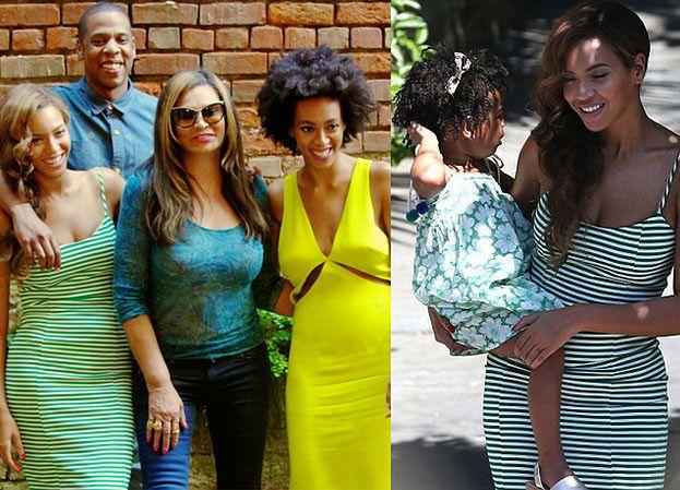 """Beyonce, Jay-Z i Solange """"udają"""" pogodzonych! (ZDJĘCIA)"""