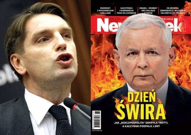 """Lis o Kaczyńskim: """"DZIEŃ ŚWIRA"""" (FOTO)"""