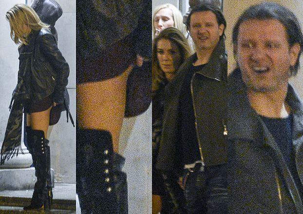 Małgorzata Rozenek poprawia majtki na ulicy (ZDJĘCIA)