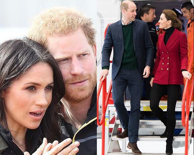 Kate Middleton i książę William przyłapani podczas lotu TANIMI LINIAMI LOTNICZYMI! Zagrali na nosie Meghan i Harry'emu?