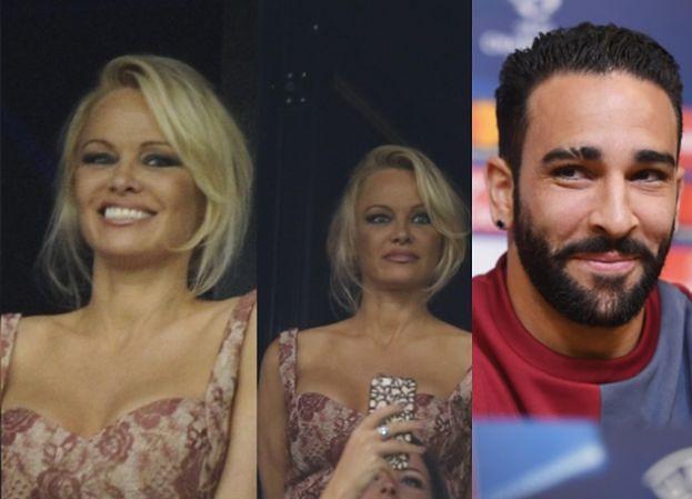 50-letnia Pamela Anderson kibicuje młodszemu o 18 lat kochankowi. Będzie nową WAG? (ZDJĘCIA)