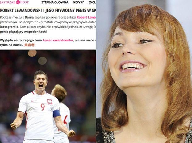"""Agnieszka Jastrzębska zachwyca się... """"frywolnym penisem"""" Lewandowskiego!"""