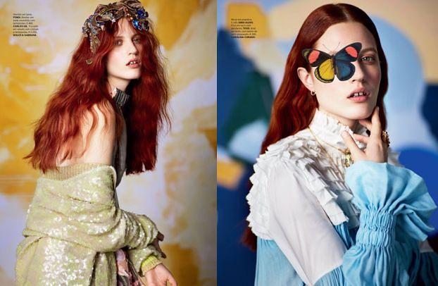 """Julia Banaś w romantycznej sesji dla """"Vogue'a"""""""