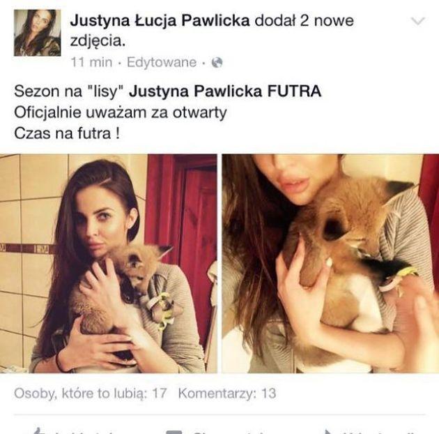 """Karolina Korwin-Piotrowska: """"Zakażmy w Polsce hodowli zwierząt futerkowych!"""""""
