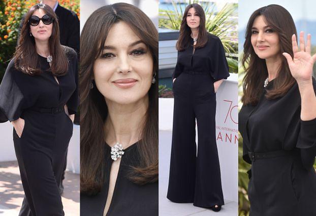 Elegancka Monica Bellucci w Cannes