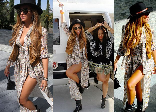 Beyonce bez biustonosza na festiwalu Coachella (ZDJĘCIA)