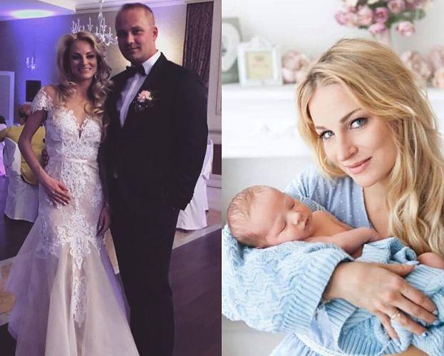 """Anita i Adrian ze """"Ślubu od pierwszego wejrzenia"""" wyjawili imię syna. """"Śliczne i bardzo oryginalnie w tych czasach"""""""