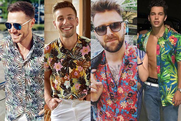 Koszula hawajska wiecznie żywa - jakie wybierają celebryci?