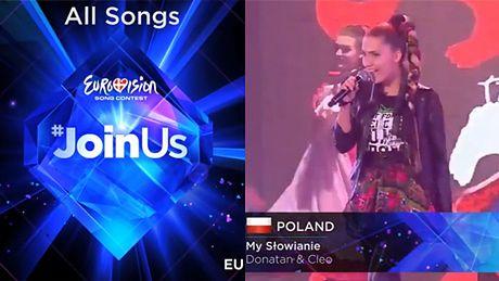 WSZYSTKIE PIOSENKI walczące w Eurowizji!