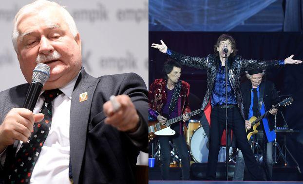 """Wałęsa napisał list do... zespołu The Rolling Stones! """"Polacy potrzebują Waszego wsparcia!"""""""