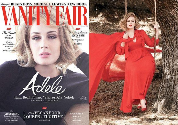 "Smutna Adele w nowej sesji dla ""Vanity Fair"""