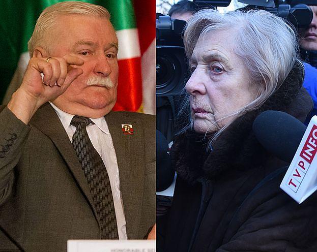 """Wałęsa pisze do Kiszczakowej: """"To sfabrykowane materiały! Wykonała prowokację!"""""""