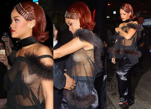 Rihanna jak GWIAZDA PORNO? (ZDJĘCIA)