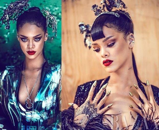 """Rihanna wystąpiła w chińskim """"Harper's Bazaar""""!"""