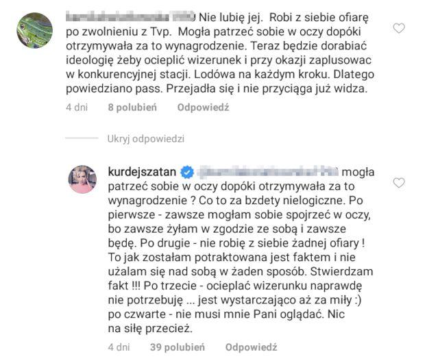 """""""M jak miłość"""" bez Barbary Kurdej-Szatan? Aktorka odpowiada krytykom: """"Nie robię z siebie ŻADNEJ OFIARY!"""""""