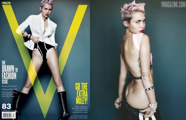 Miley w skórze i ćwiekach! (ZDJĘCIA)
