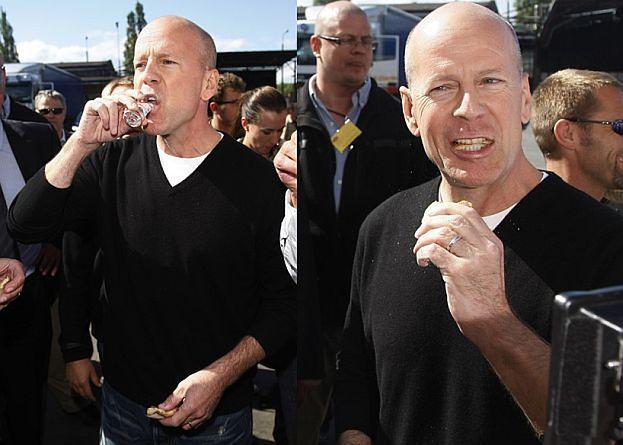 Bruce Willis w Polsce! (ZDJĘCIA)