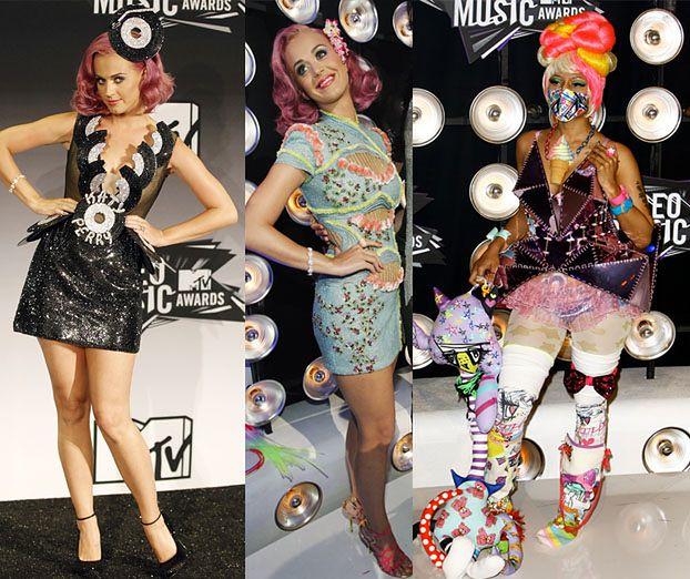 NAJDZIWNIEJSZE kreacje z imprezy MTV! (PORÓWNAJ!)