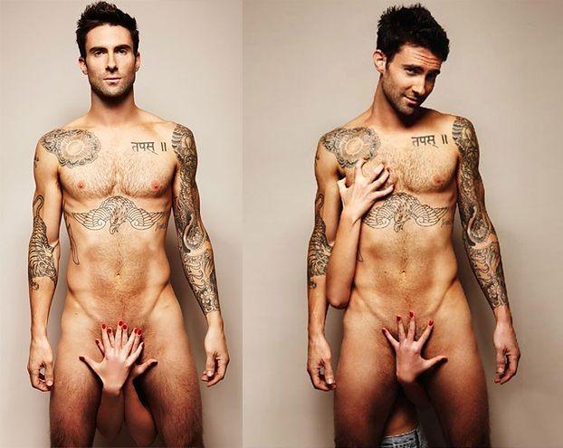 NAGI wokalista Maroon 5 (FOTO)