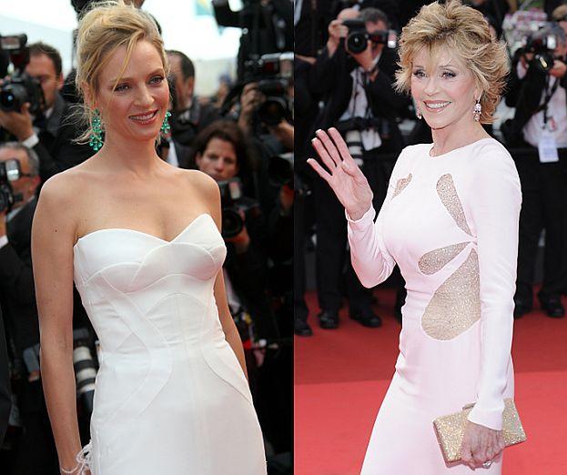 Gwiazdy w bieli na festiwalu w Cannes