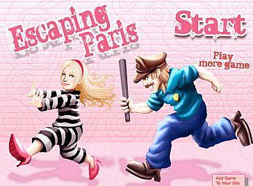 Ucieczka Paris Hilton!