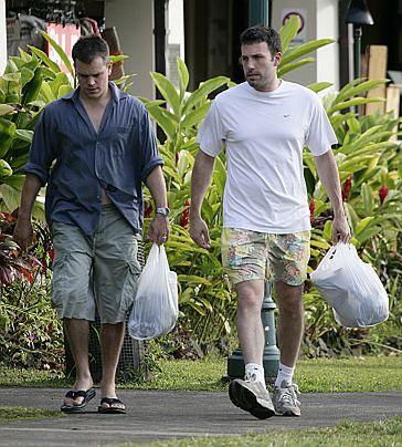 Ben Affleck w formie, Matt Damon sflaczały