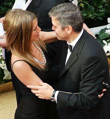 Jennifer Aniston z Clooneyem?