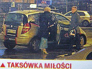 Popielewicz i Mroczek razem w taksówce