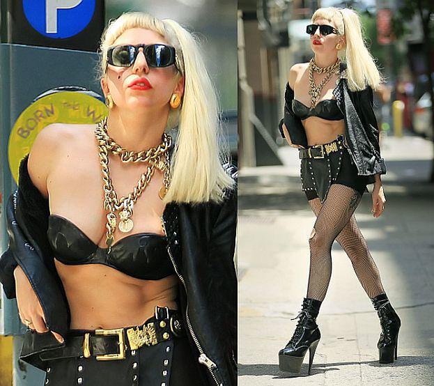 Lady GaGa wygląda jak...? (ZDJĘCIA)