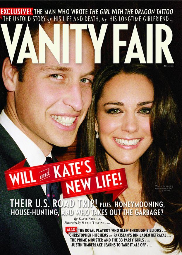 """William i Kate na okładce """"Vanity Fair""""!"""