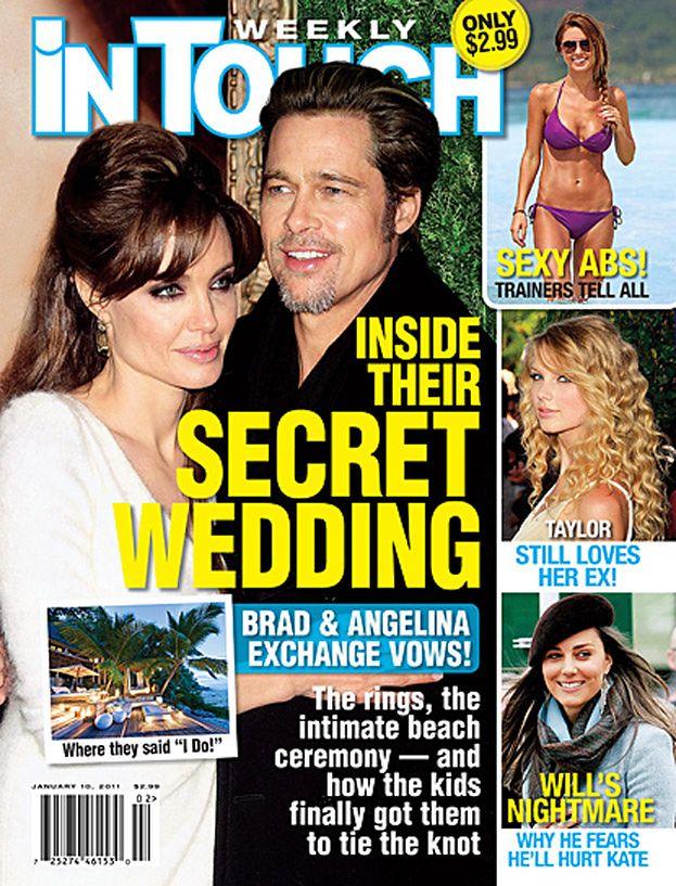Angelina i Brad wzięli ślub na niby!
