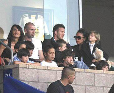 Beckhamowie z dzieciakami