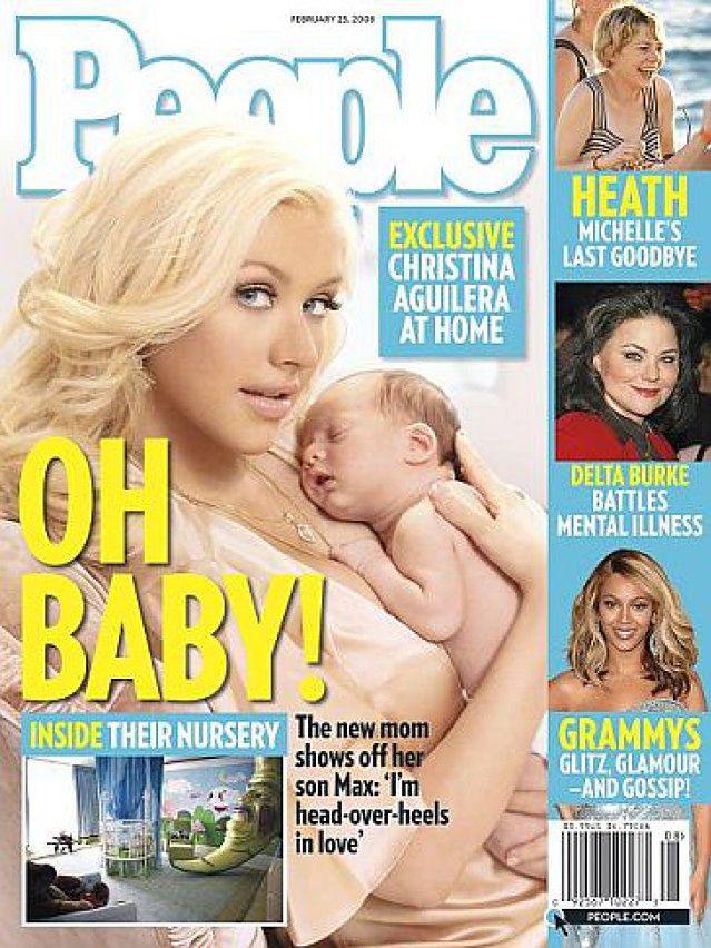 Christina Aguilera z synkiem