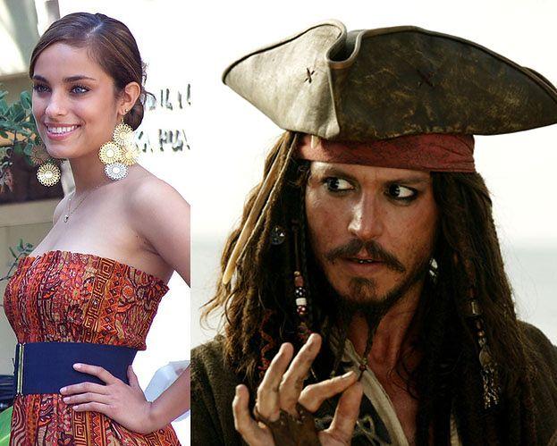 """Modelka: """"Spałam z Deppem na planie Piratów z Karaibów!"""""""