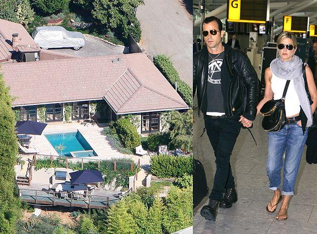 Aniston zamieszkała z nowym facetem!