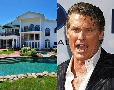 Hasselhoff też nie może sprzedać domu! (ZDJĘCIA)