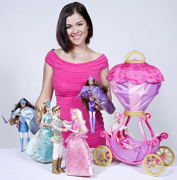 Cichopek w reklamie Barbie!