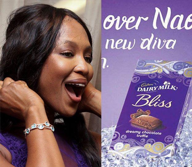 Cadbury przeprosiło Naomi za reklamę czekolady!