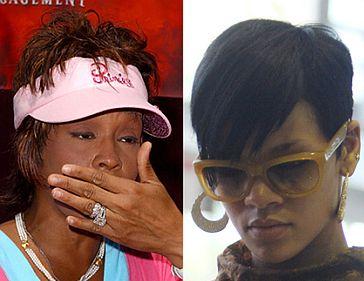 """Whitney do Rihanny: """"Nie popełniaj tego błędu co ja!"""""""